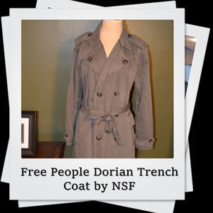 EUC | Free People Dorian Trench Coat by NSF